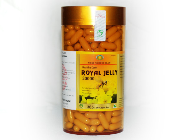 Royal Jelly 30000 - 365 Soft Capsules