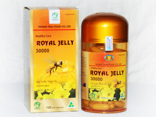 Royal Jelly 30000 - 100 Soft Capsules
